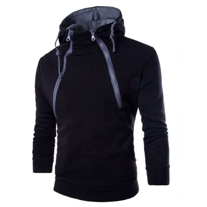 New hoodies autumn and winter long sleeve men's coat.