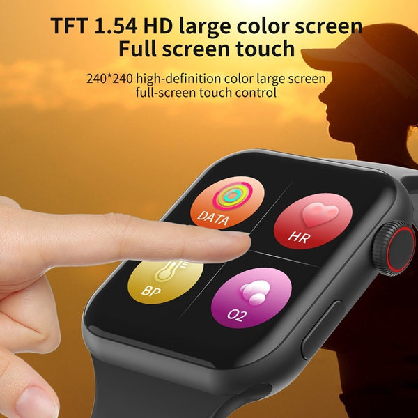F10 Smart Watch Full Touch Screen Heart Rate Blood Pressure Sports Tracker Fitness PK P80 N99 NY07 Watches Connect Android IOS