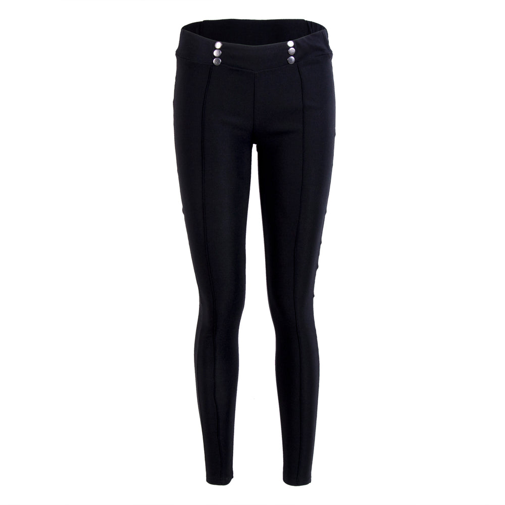 Stretch Skinny High Waist Pants Slim Trousers Casual.
