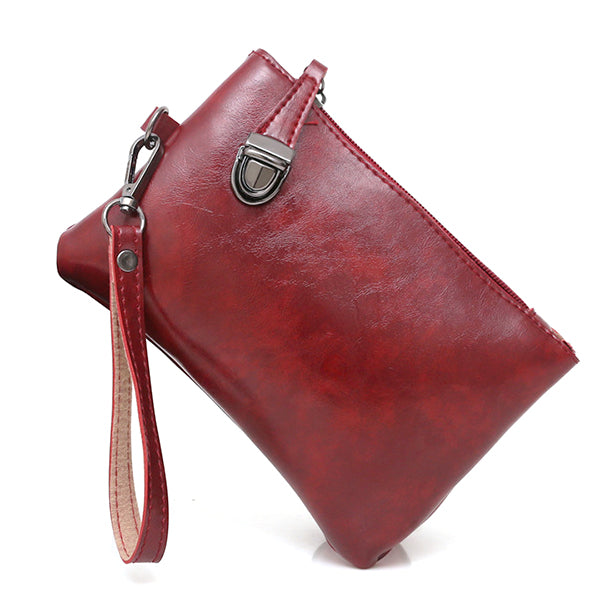 Women PU Leather 4 Pieces Bags Handbag Crossbody Bag Card Holder Wallet