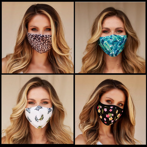 3 Layer Mask, 100% Cotton