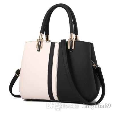 new European and American luxury brand female handbag famous designer female bag hand bill of lading shoulder cross body female bag fas C02