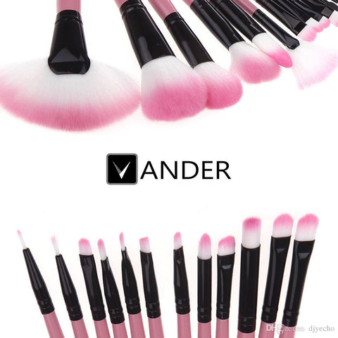 Vander Makeup Tools 32 pcs Makeup Brushes Professional Foundation Powder Face Eyebrow Make Up Multipurpose Brush Set maquiagem Cosmetic Kits