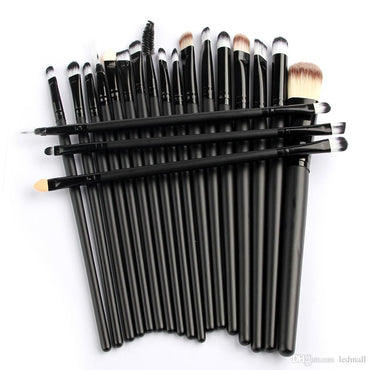 Wholesales 10*20Pcs Powder Foundation Brushes Eyeshadow Eyeliner Lip Blending Brushes SCC Makeup Tool Cosmetic Set Only For You