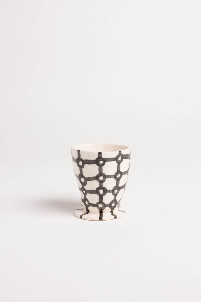 Jessica Hans Black and White cup
