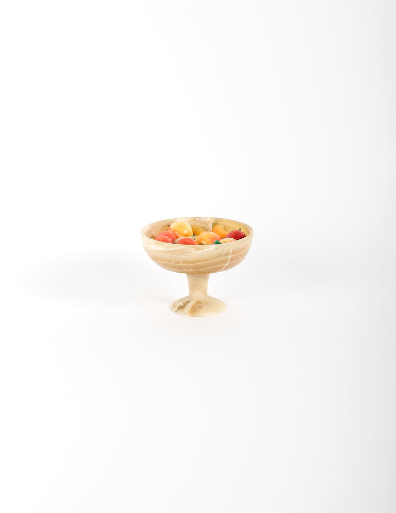 Stone Bowl with Miniature Stone fruit - Rare Selects by Sounds