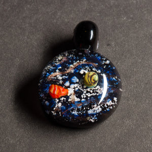 Black Cosmos Memorial Pendant