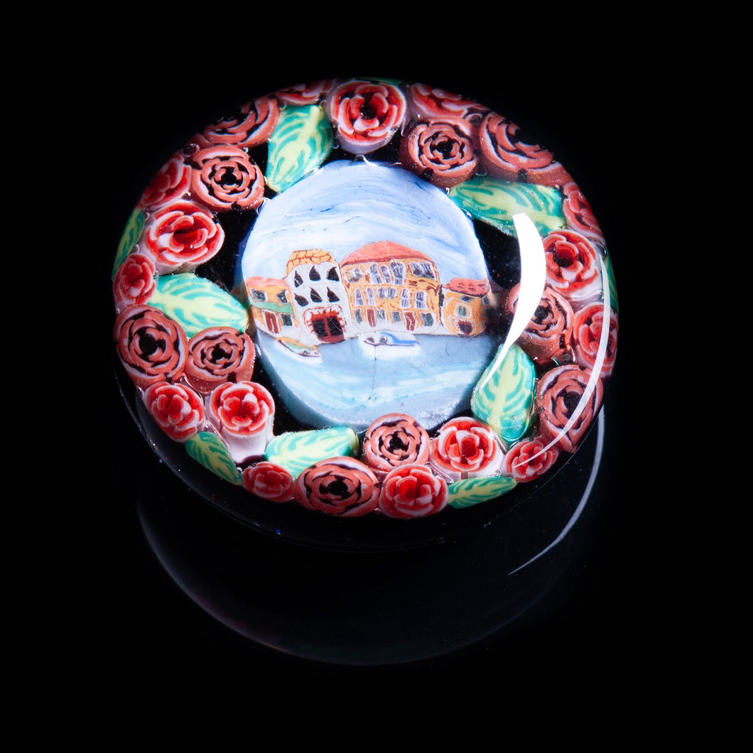 Version #1 Murano Mini Paperweight