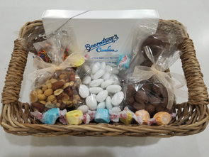 Medium Basket With 8oz. Assorted Chocolates