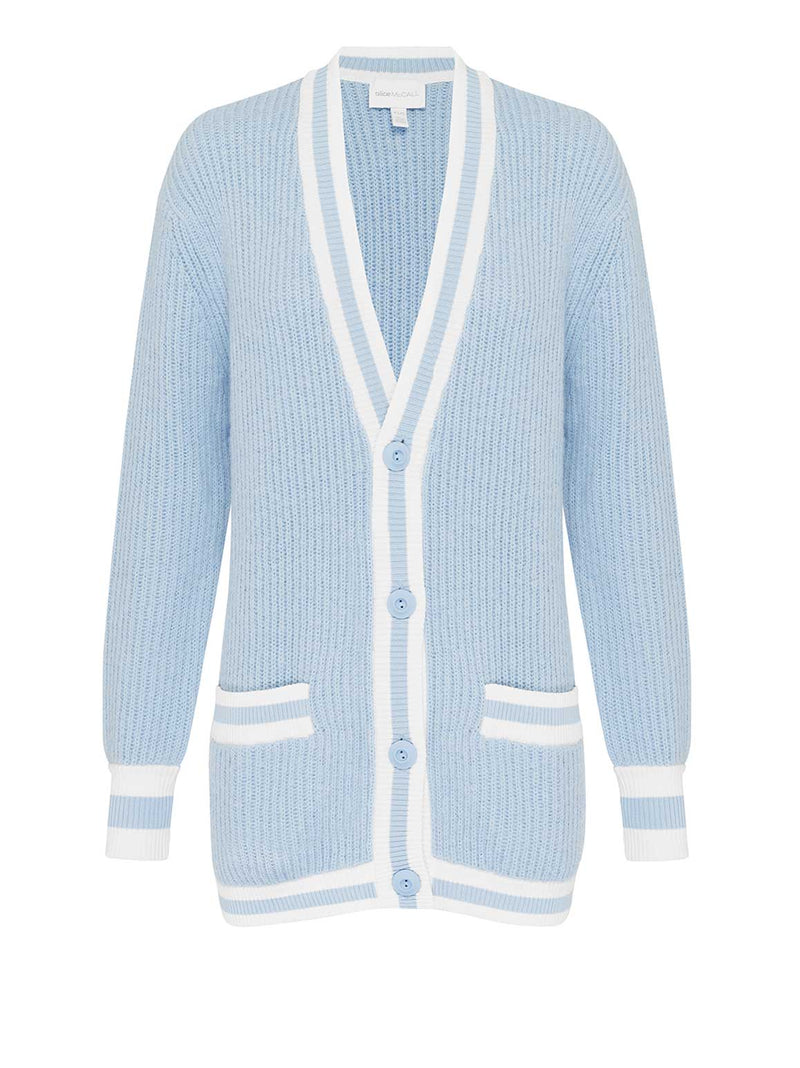 GET THE BLUES CARDIGAN