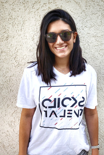 Clicks Talent Glitch T Shirt