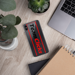 Team Clicks Bold iPhone Case