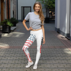 Team Clicks Classic USA Leggings