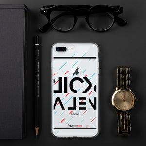 Clicks Talent Glitch iPhone Case