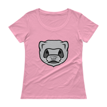 Load image into Gallery viewer, Chika The Ferret Ladies T-Shirt