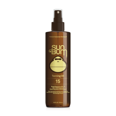 SUN BUM SUNSCREEN TANNING OIL 15 SPF