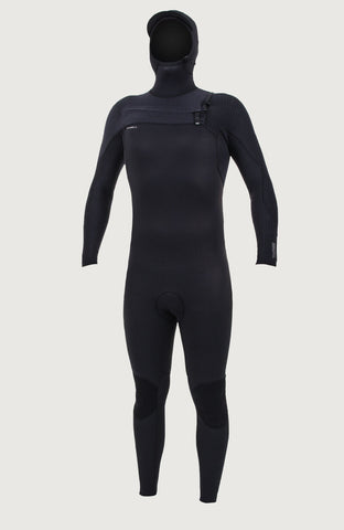 O'NEILL HYPERFREAK 5/4+MM CHEST ZIP HOODED WETSUIT 2019/20