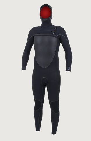 O'NEILL PSYCHO TECH 6/4 + MM HOODED MENS WETSUIT 2020/21