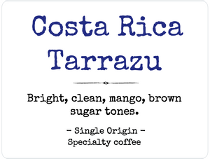 Costa Rica Tarrazu - Medium roast