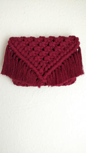 """Zoe"" macrame wallet bag"