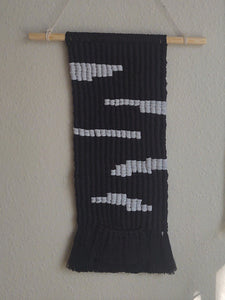 Black Macrame Wall Hanging