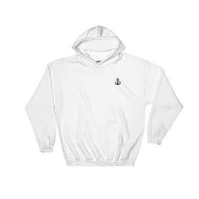Anchor Hooded Sweatshirt - Hoodie - Ink Apparel