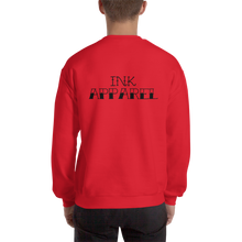 Load image into Gallery viewer, Skull and Dagger Sweatshirt (Black Font) - Jumper - Ink Apparel