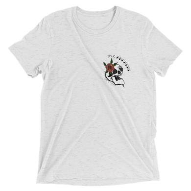 Flower Skull Unisex T-shirt -  - Ink Apparel