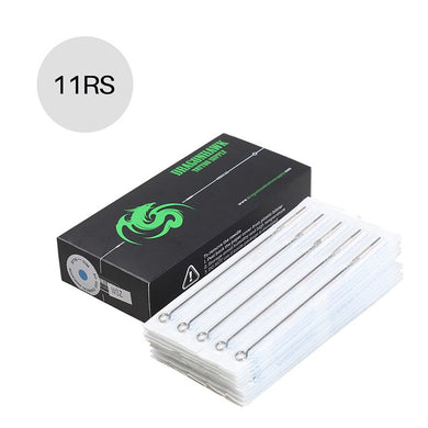 Box Of 50PCS  11RS Round Liner Premade Sterilized Tattoo Needles Supply  P-11RS*50 -  - Ink Apparel