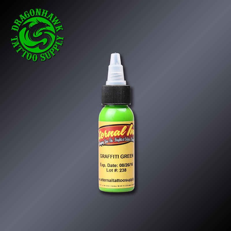 Graffiti Green Color Tattoo Inks 30ml Original Imported USA -  - Ink Apparel