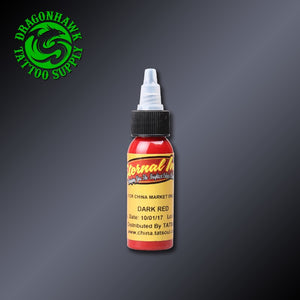 Dark Red Color Tattoo Inks USA Original Imported 30ml Pigment - Ink - Ink Apparel