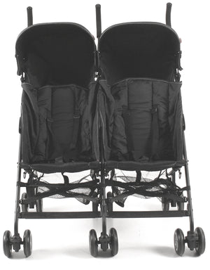 Kees -Tweeling Buggy Side By Side Zwart
