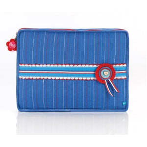 Lief! - Laptopsleeve Blue