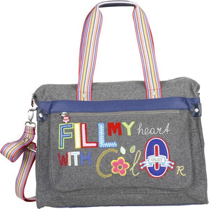 Oilily - Baby Bag Grey Luiertas