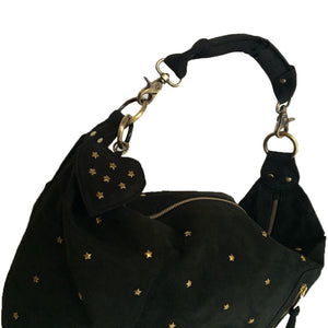 Fab - Baby Bag Nubuck Black Star Studs 2016