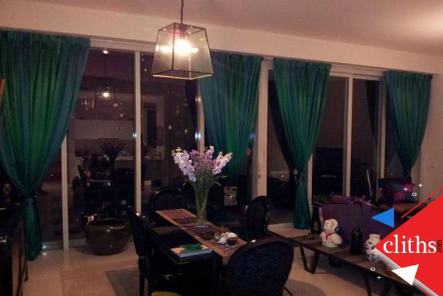 Curtains to block light: blackout/ drapery curtains/ Room Darkening Curtains