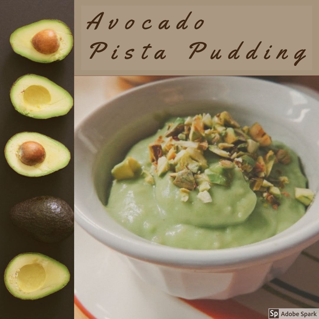 Avocado Pista Pudding