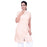 Washed Cotton Ladies Kurta Aum - Beige