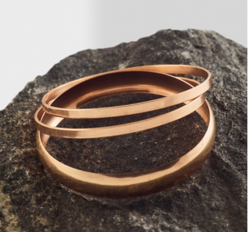 Copper Bangle - Style 1