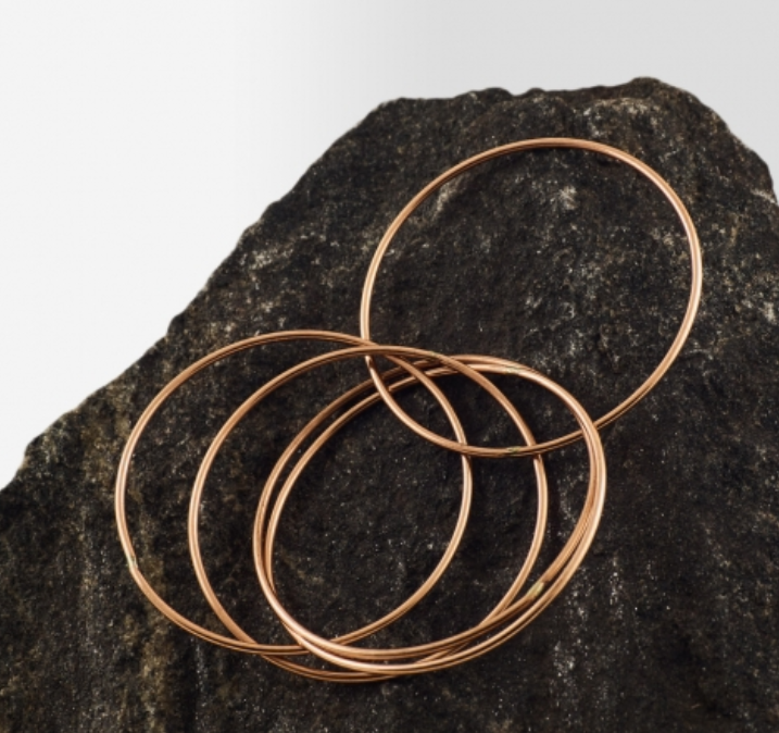 Copper Bangle - Style 5