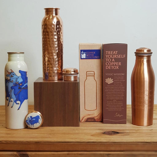 Rejuvenate with Copper Bottles