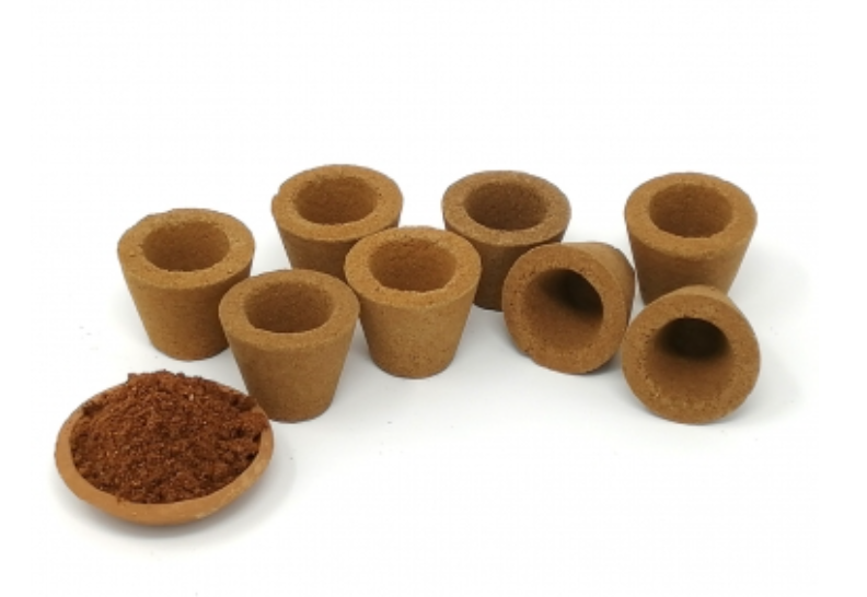 Handmade Dasangam with Cow Dung Cups, 12 pcs