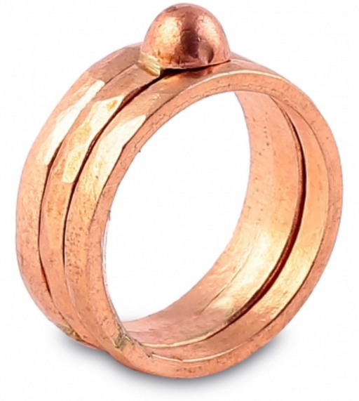Linga Copper Ring