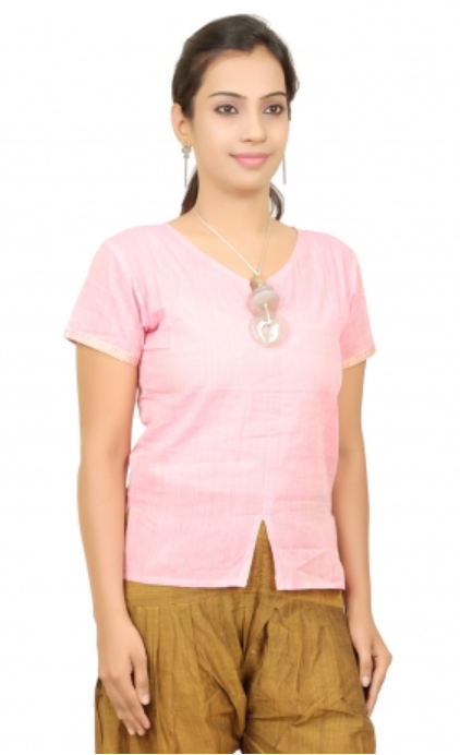 Women Mangalagiri Cotton Top
