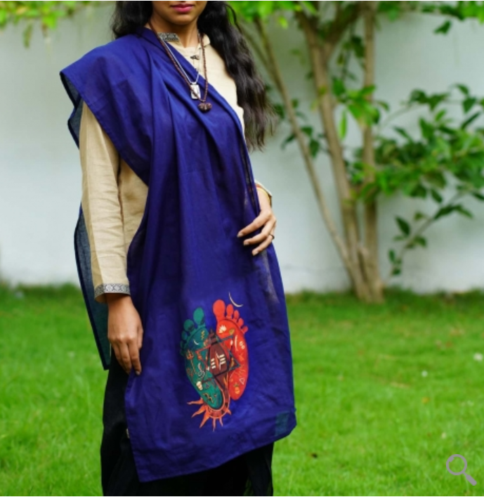 Padam Organic Cotton Shawl
