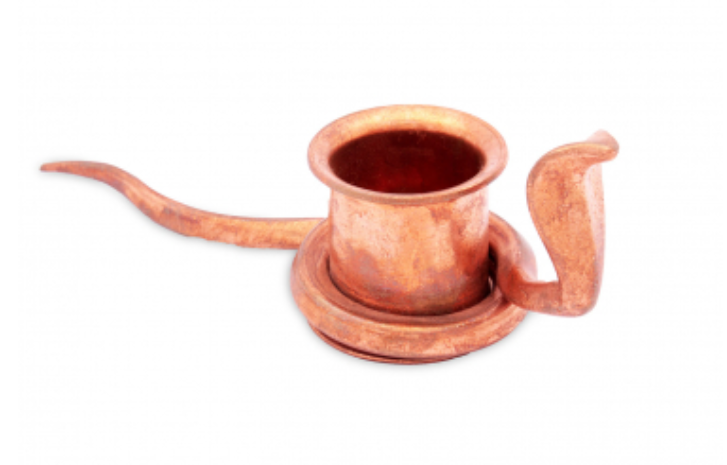 Snake Dhoop Stand (Copper)