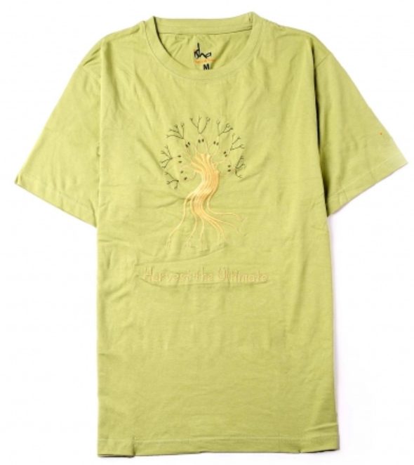 Organic Cotton Harvest the Ultimate T-shirt - Green