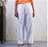 Womens Organic Cotton Sadhana Pyjama - White
