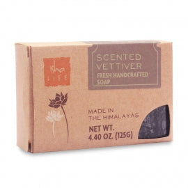 Scented Vettiver Handmade Soap, 125 gm