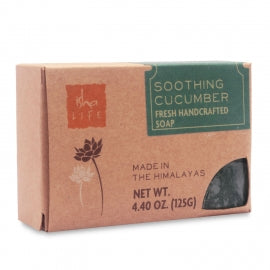 Soothing Cucumber Handmade Soap, 125 gm